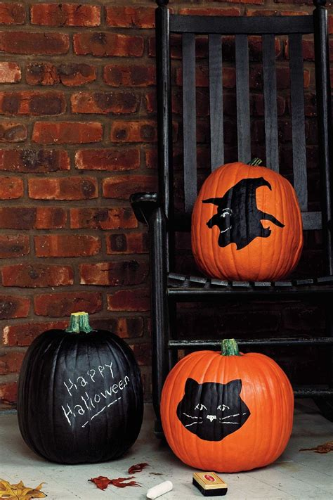 chalkboard paint pumpkin 25 awesome painted pumpkin ideas for and beyond