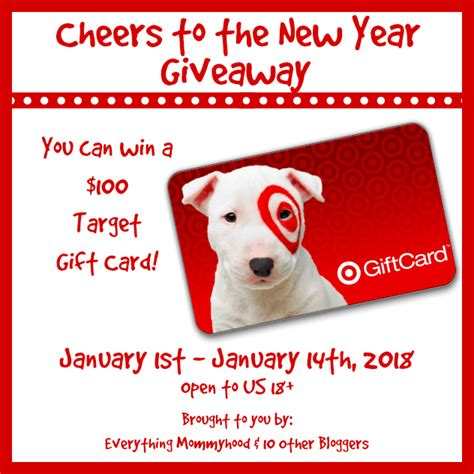 Target Gift Card Not Working - cheers to the new you 100 target giveaway