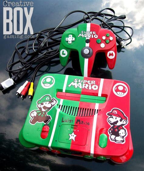mario bros console mario brothers custom nintendo 64 console by