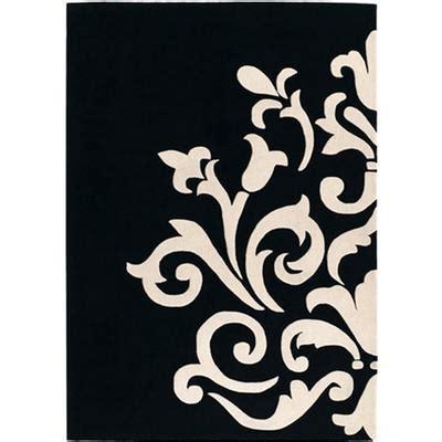 canapé noir et blanc design tapis design pas cher tapis salon contemporain meubles