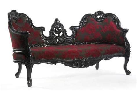 gothic sofa gothic furniture victorian chairs and sofas pinterest