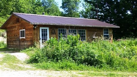 Cottages For Sale In Wi by Rustic Log Cabin On Prime Deer Acres Southwest Wi