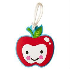 Bag Tag Smiggle wrap it up theme packages fruits on