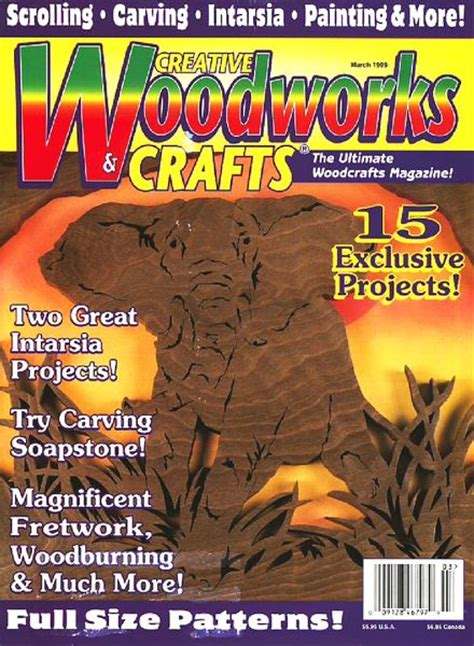 woodworks magazine creative woodworks crafts march 1999 pdf