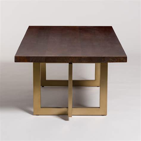 manhattan coffee table alder tweed furniture