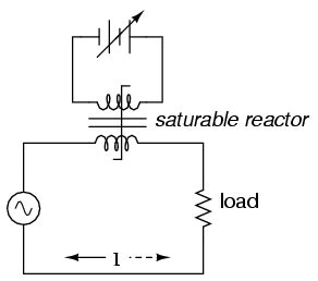 saturable reactor circuit chapter 9 section g special transformers and applications