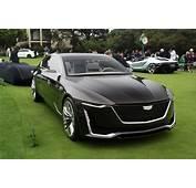 Cadillac Escala Concept Previews The Future Of American