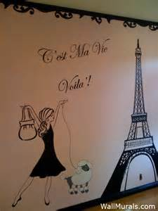 Paris Themed Wall Murals wall murals for tweens and teens teenager wall murals by