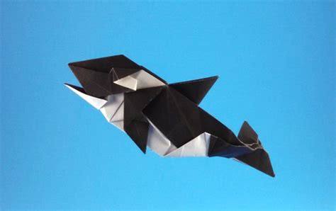 Origami Killer Whale - origami whale diagram images