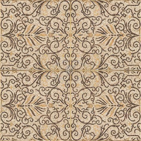 Mosaic ancient rome floor tile texture seamless 16412