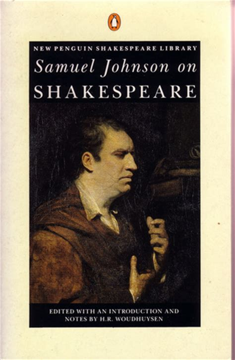 the of samuel johnson books samuel johnson on shakespeare by samuel johnson reviews