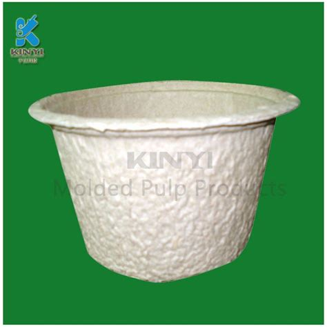 Paper Plant Pots - new sugarcane molded paper pulp packaging biodegradable
