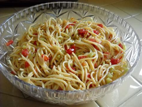 pasta salad with spaghetti noodles a diva s garden spaghetti salad recipe