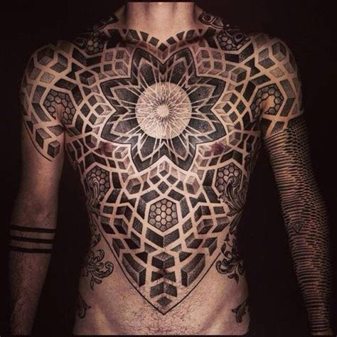 blackwork tattoo with sacred geometry and geometric 80 sacred geometry tattoos that will take your breath away