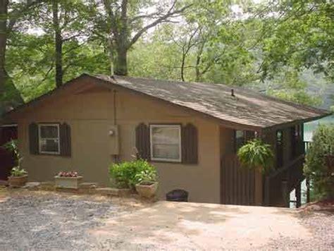 Carolina Lake Cabins by Lake Santeetlah Lake Front Vacation Cabin Home With