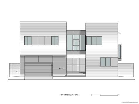 house modern architectural design pencil and in