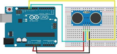 hc sr04 ultrasonic distance sensor code ultrasonic sensor arduino