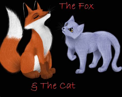 is a fox a cat or the fox and the cat by silvervanadis on deviantart