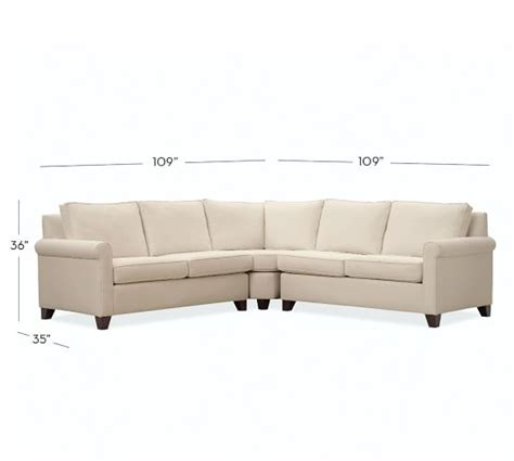 cameron sectional cameron roll arm upholstered 3 piece l shaped sectional