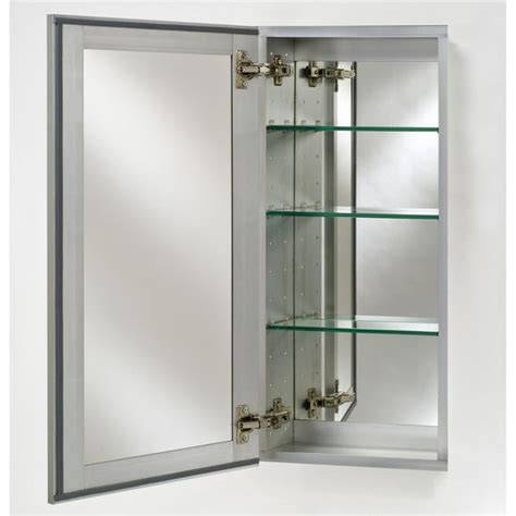 """Broadway Collection Frameless Single Door 15'' to 24"""" Wide"""