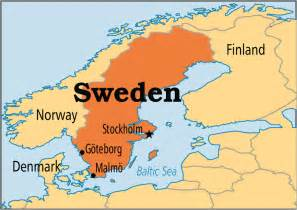 Sweden On World Map by Pics Photos Sweden Map Hd