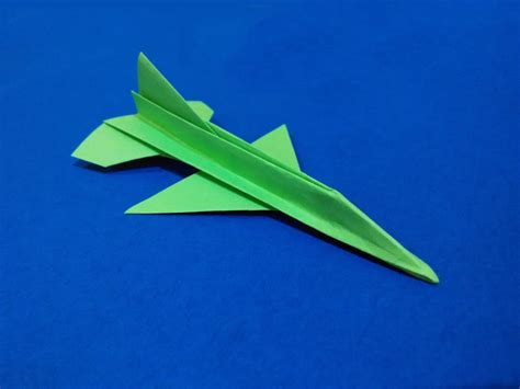 Origami F16 - free coloring pages origami f 16 falcon tutorial flying