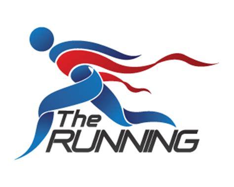 design logo running the running designed by asrisken brandcrowd