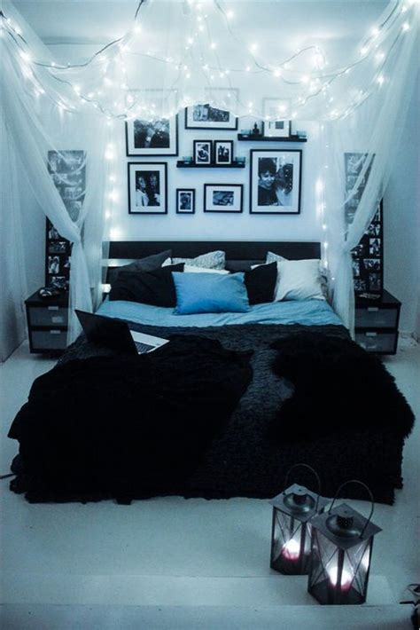 room with lights best 25 bedroom decor lights ideas on