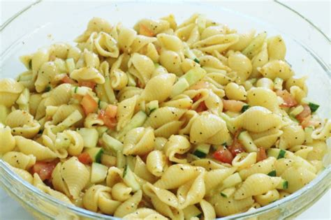 simple pasta salad simple pasta salad recipe leslie co