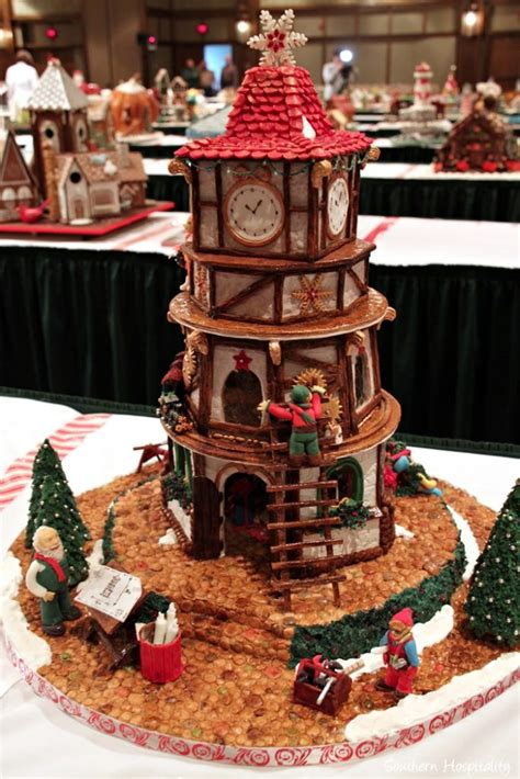 gingerbread house competition 23rd gingerbread house competition at the grove park inn southern hospitality