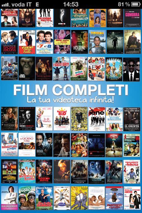 film gratis completi senza registrazione film completi l app perfetta per portare sempre con voi