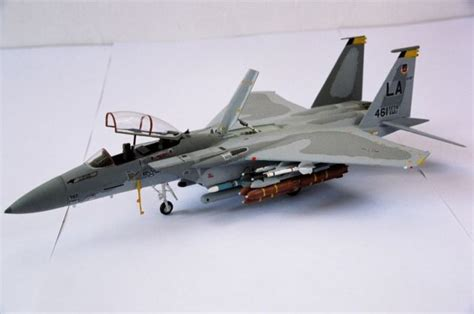 Painting F 15 Model by Mcdonnell Douglas F 15d Eagle