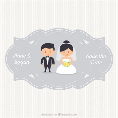 Wedding Vector Free by Wedding Label Vector Free