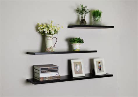 floating shelves hanging bookshelf bookshelves wall shelf black floating wall shelves 3pcs set modern display