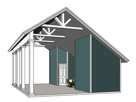 carport plan the garage plan shop 187 carport plans