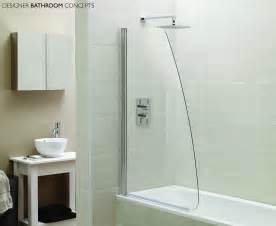 bath and shower screens designer sail glass bath shower screens ap9578s