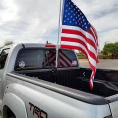 Truck Bed Flag Pole by Today Only Toyota Truck Bed Rail Flag Pole Mounts Are