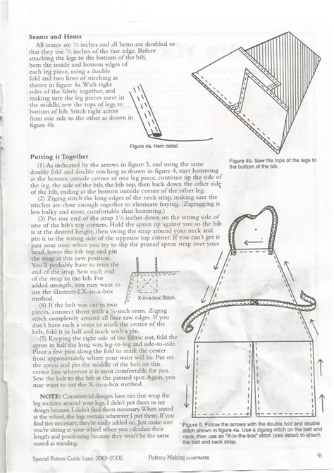 pottery apron pattern split leg pottery aprons keeping it clean marian williams pottery