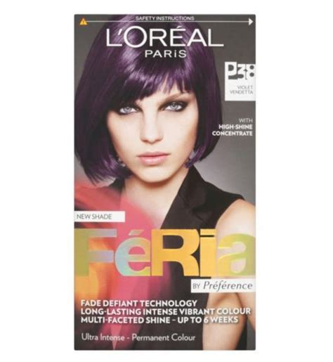 feria hair color purple loreal feria violet vendetta hair dye p38 boots