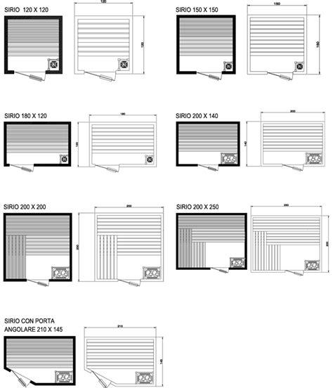 sauna da casa dimensioni sauna da casa pannelli termoisolanti