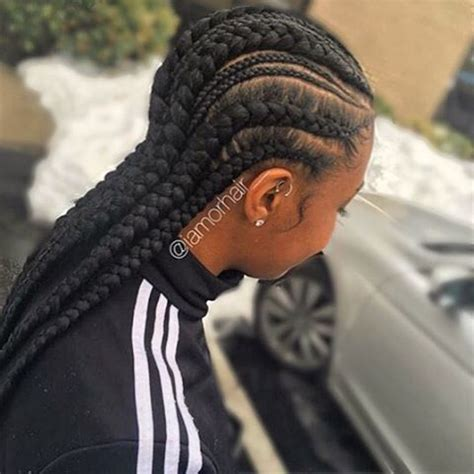 Inverted Cornrow Hairstyles For Adults by 40 And Creative Cornrow Hairstyles You Can Try