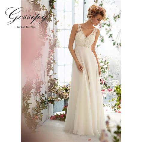 Wedding Dresses 2016 Cheap by Backless Wedding Dress 2015 Chiffion A Line Vestidos