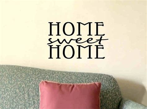foyer quotes wall quote decal home sweet home living room foyer wall
