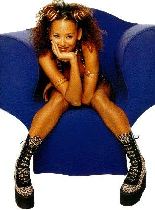 Melanie Brown Aka Scary Spice Is And See Through With Eddie Murphys Baby by Nineties