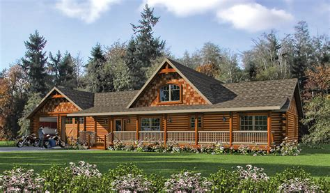 south shore home plan by golden eagle log homes