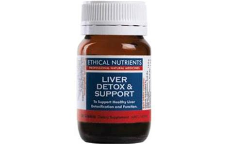 1 Liver Support And Detox by Ethical Nutrients Liver Detox Support 30 Capsules Price