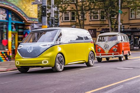 Volkswagen Buzz 2020 by Vw Id Buzz Vs Vw Microbus Vs New Test Review