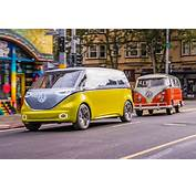 VW ID Buzz Vs Microbus Old New Twin Test Review By