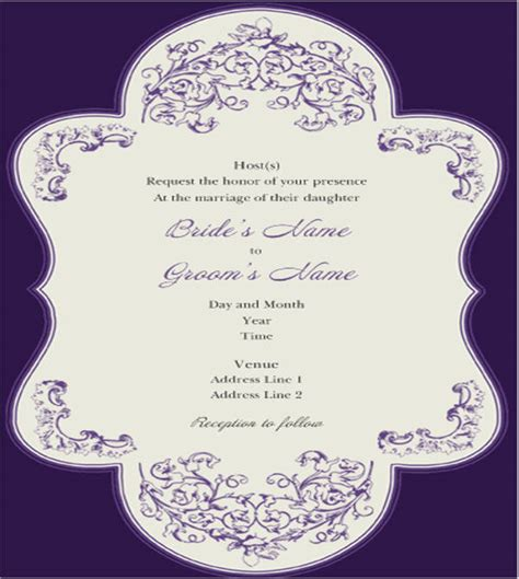 Printing Wedding Invitations Kinkos by 40 Wedding Invitations Downloadcloud
