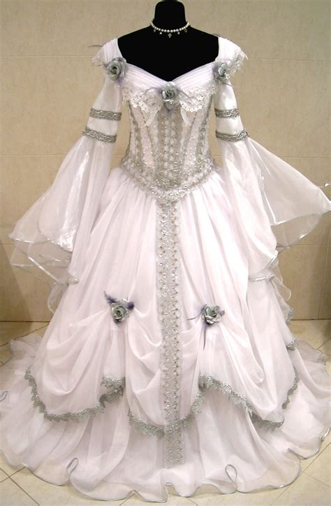 details about medieval wedding dress victorian goth